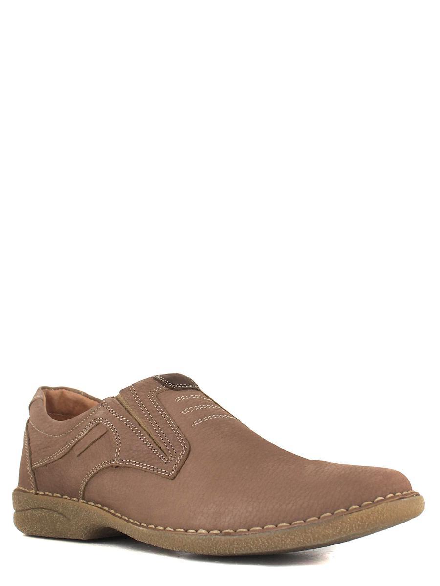 Bonty туфли 4030-17-1354 св.коричневы