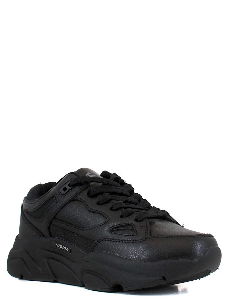 SIGMA кроссовки l21721g-2 чёрный