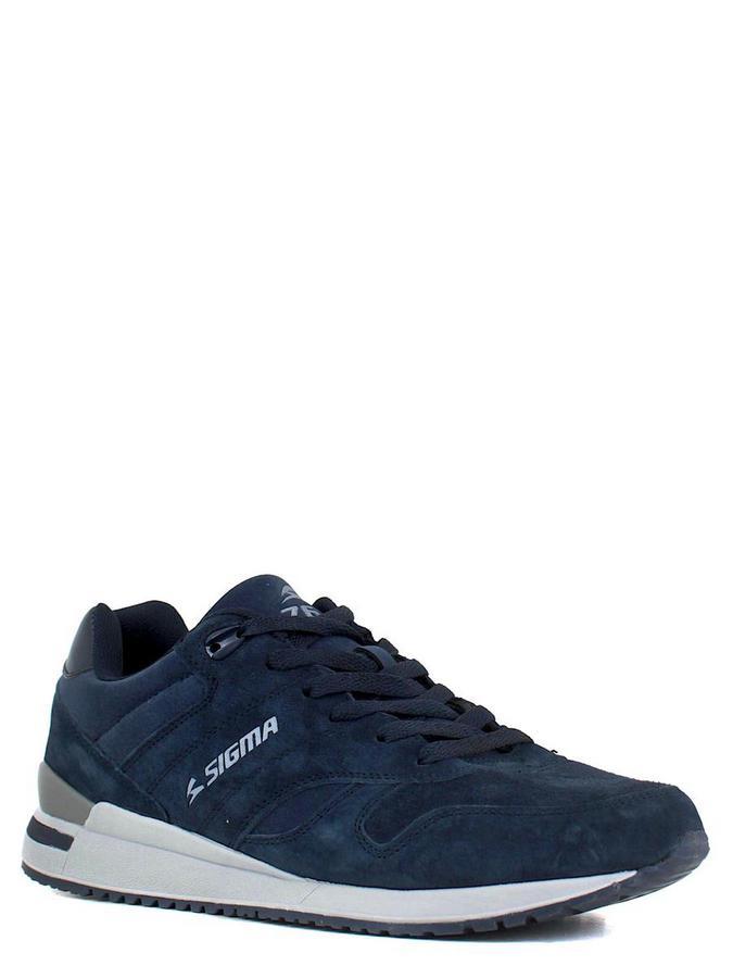SIGMA кроссовки p761n синий