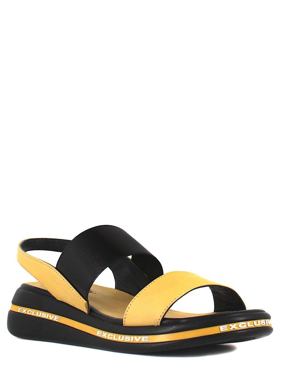 Bonty босоножки 181-701-d32 желтый/чёрный