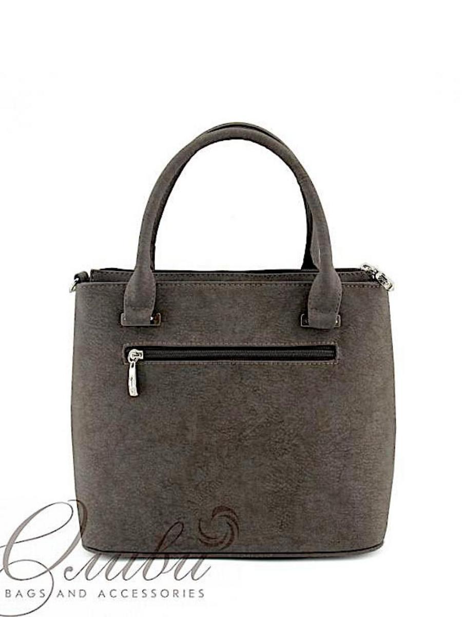 ОЛИВИ сумки 821 серый/коричневый