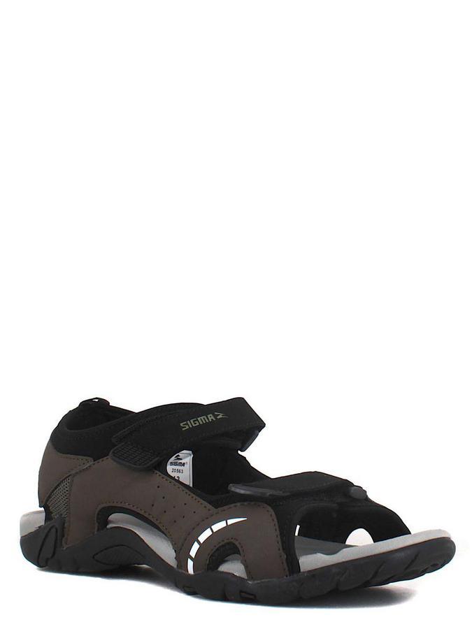 SIGMA сандалии 20563rc хаки/черный