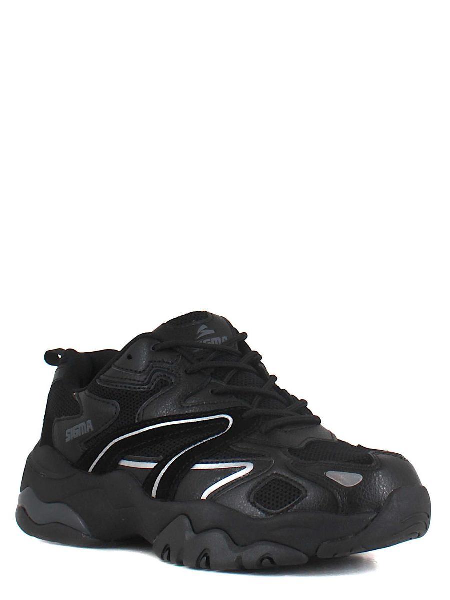 SIGMA кроссовки l21898c-2m чёрный