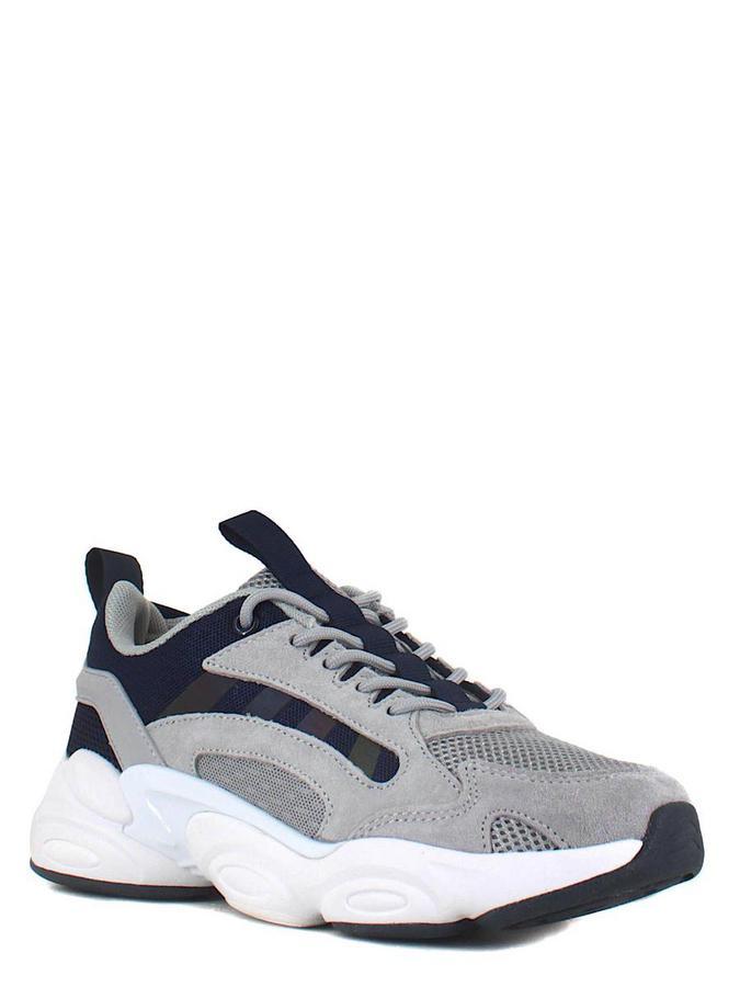SIGMA кроссовки s20312hx-2m серый/т.синий