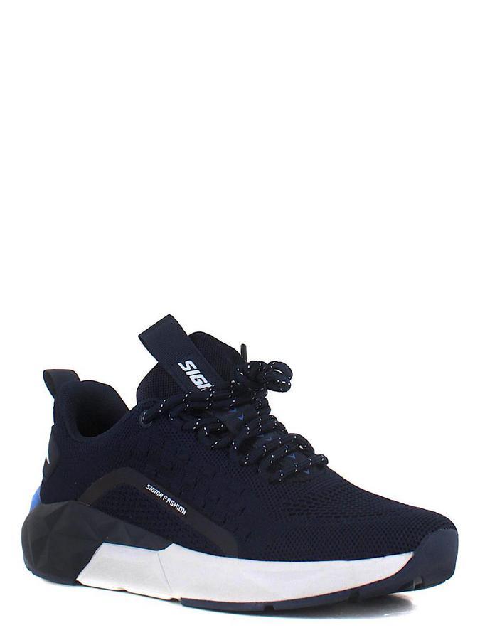 SIGMA кроссовки t6601х-2 т.синий