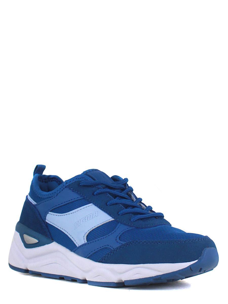 SIGMA кроссовки s21443x-2m синий