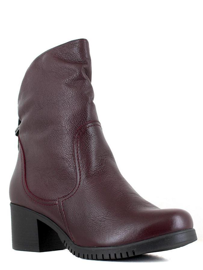 Bonty ботинки высокие x5599-5ce-39-3 бордовый