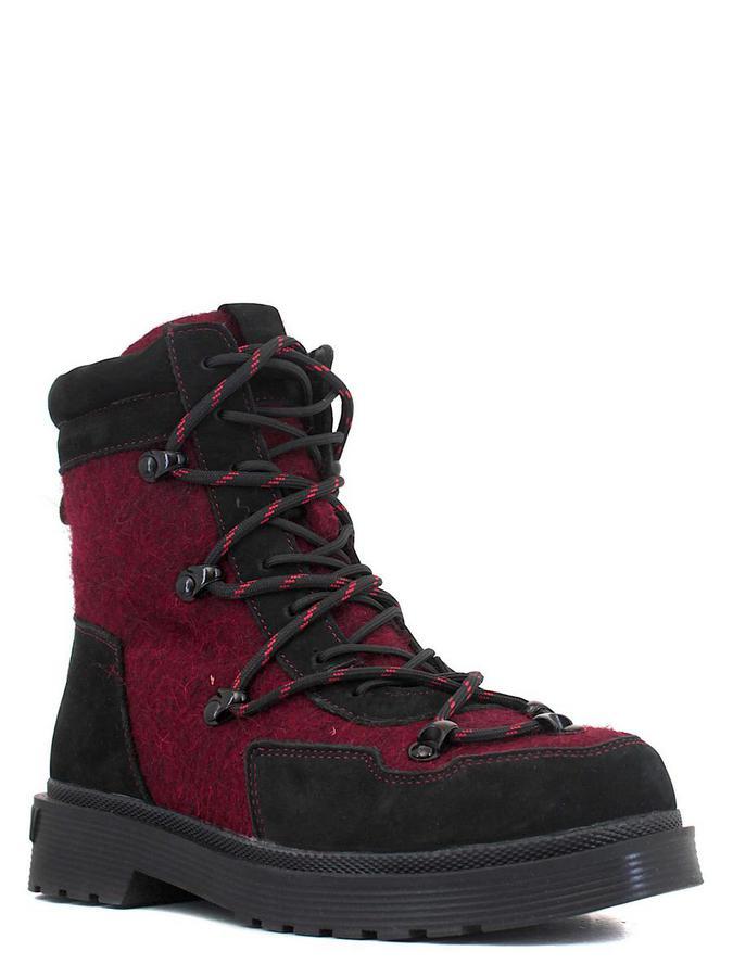 Makfly ботинки 115mf-13-7w чёрный/бордов